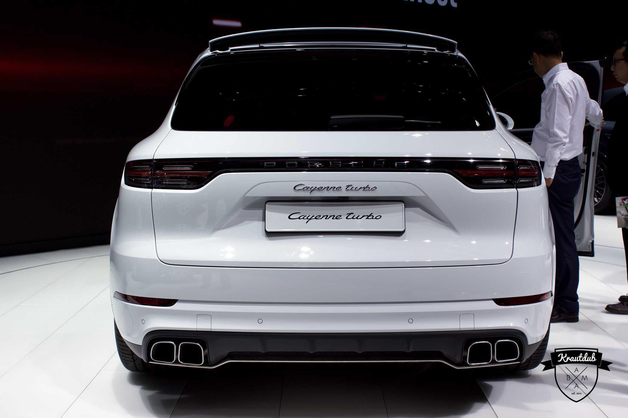 Porsche Cayenne Turbo - IAA 2017