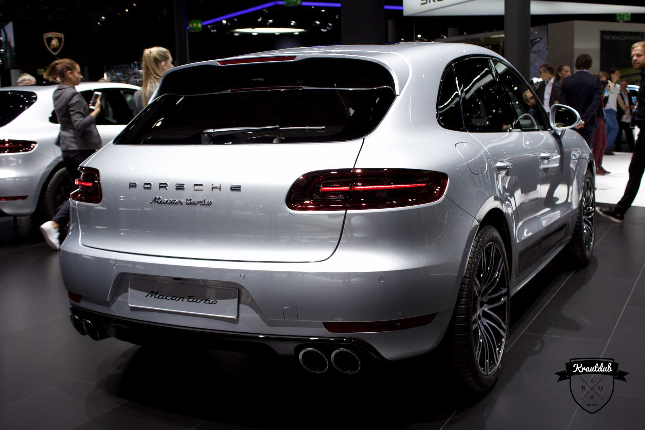 Porsche Macan Turbo - IAA 2017