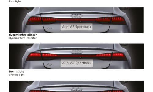 [Audi] A7 mit neuem Knight-Rider Lichtdesign