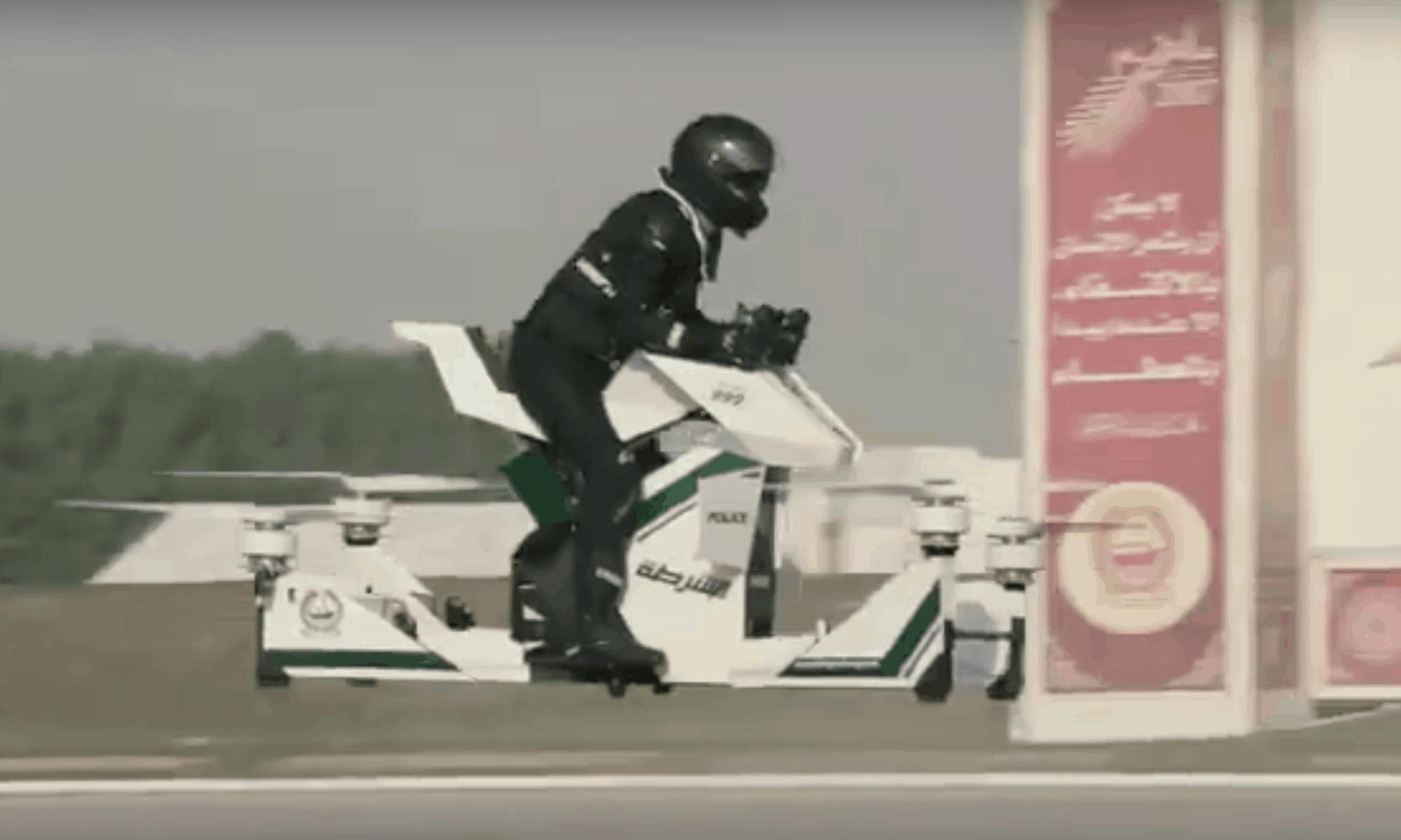 [Video] Kranker Scheiß: Sind bald Hoverbikes für die Polizei in Dubai unterwegs?