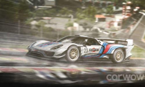 [RenderGalerie #6] Porsche 918 Le Mans
