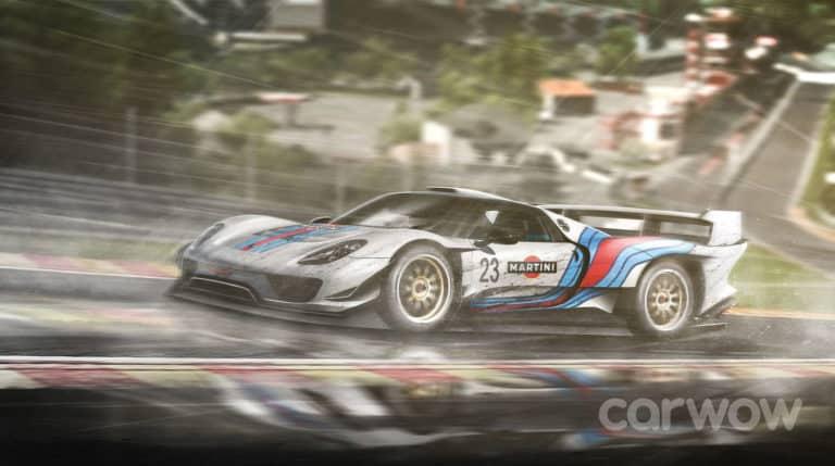 Porsche 918 Le Mans by Carwow