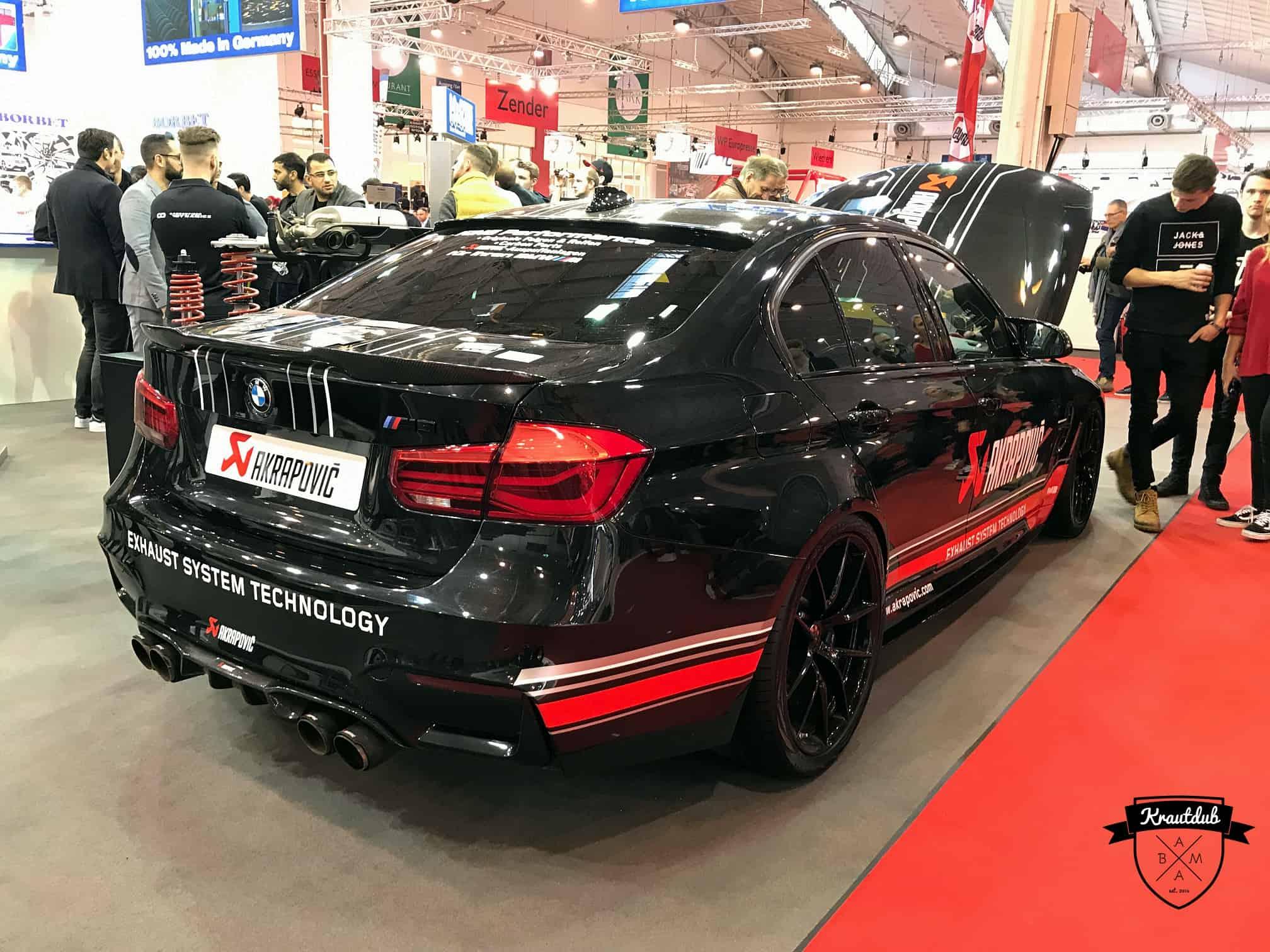 BMW M3 Limousine by Akrapovic