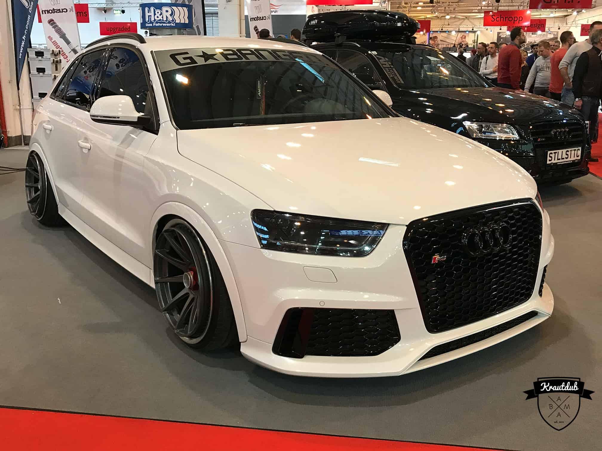 Stanced Audi Q2