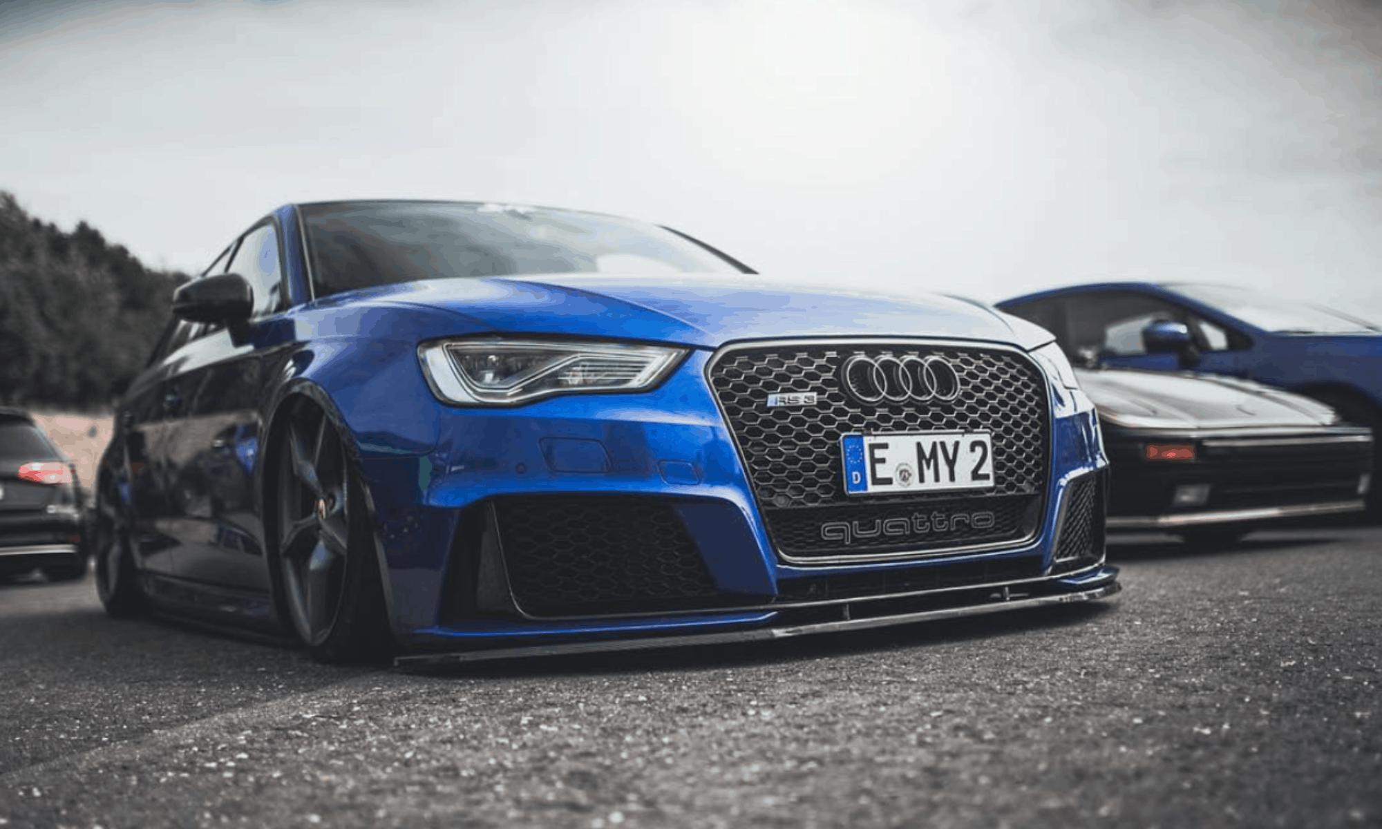 Twist 'n Fix Kennzeichenhalter für euren Audi Wabengrill