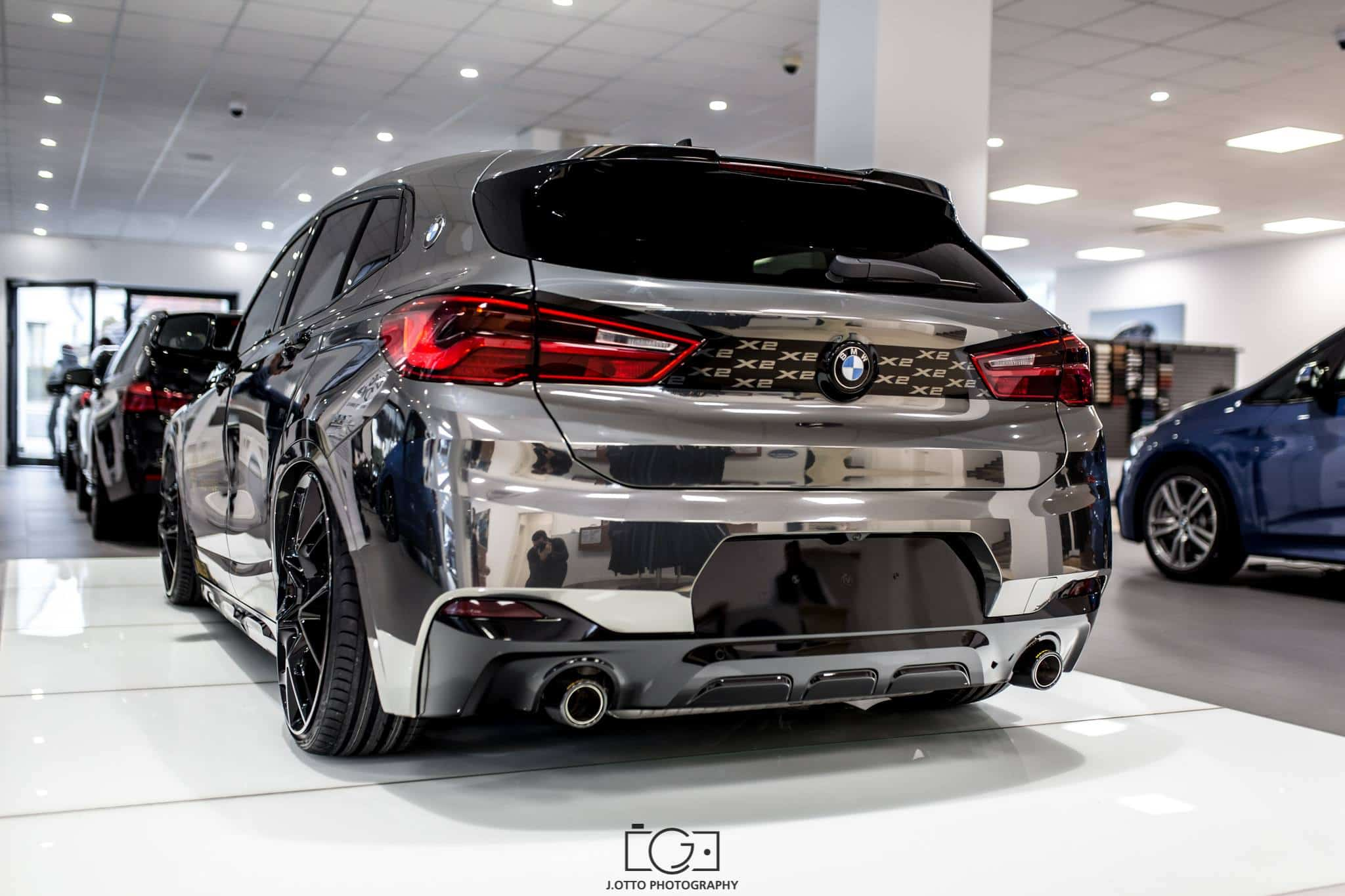 BMW X2 Tuning by Maxklusiv Photo: J. Otto Photography