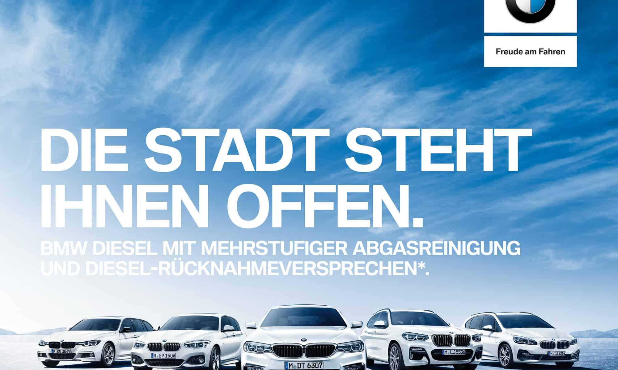 [BMW] Rücknahmeversprechen von Dieselfahrzeugen