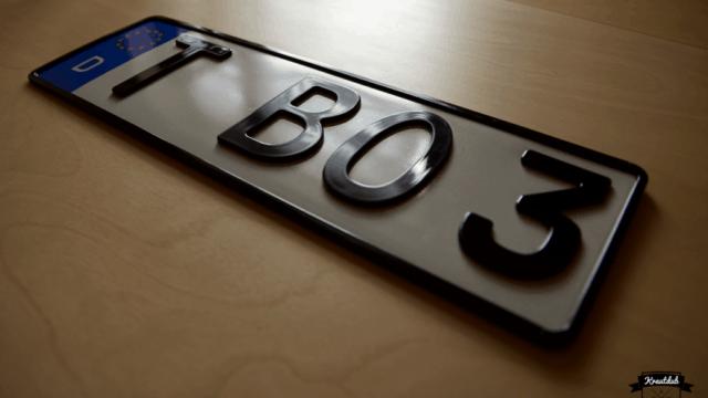 3D-Kennzeichen T-BO3_3