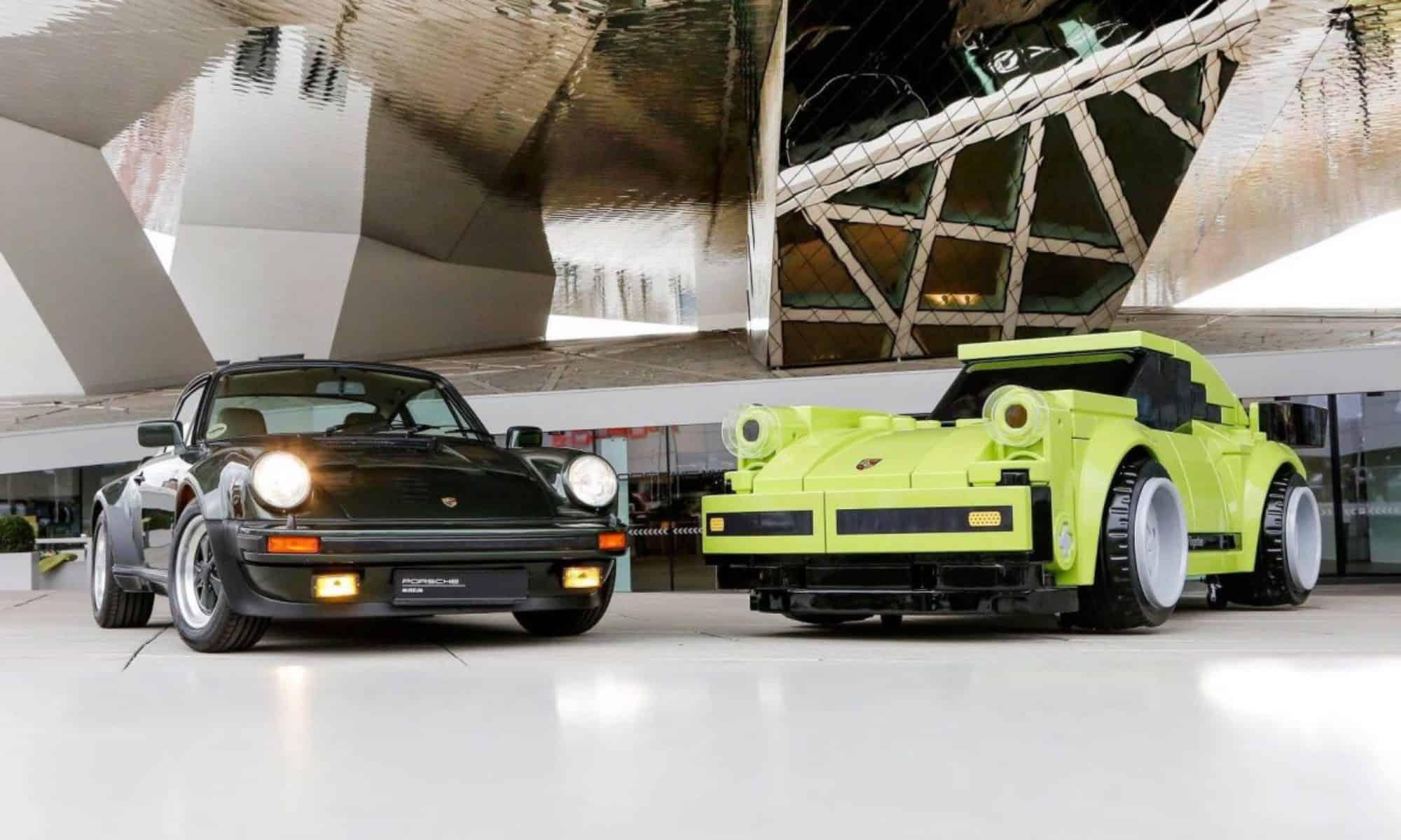 [Fundstück] Porsche Museum – Lego Porsche in Lebensgröße