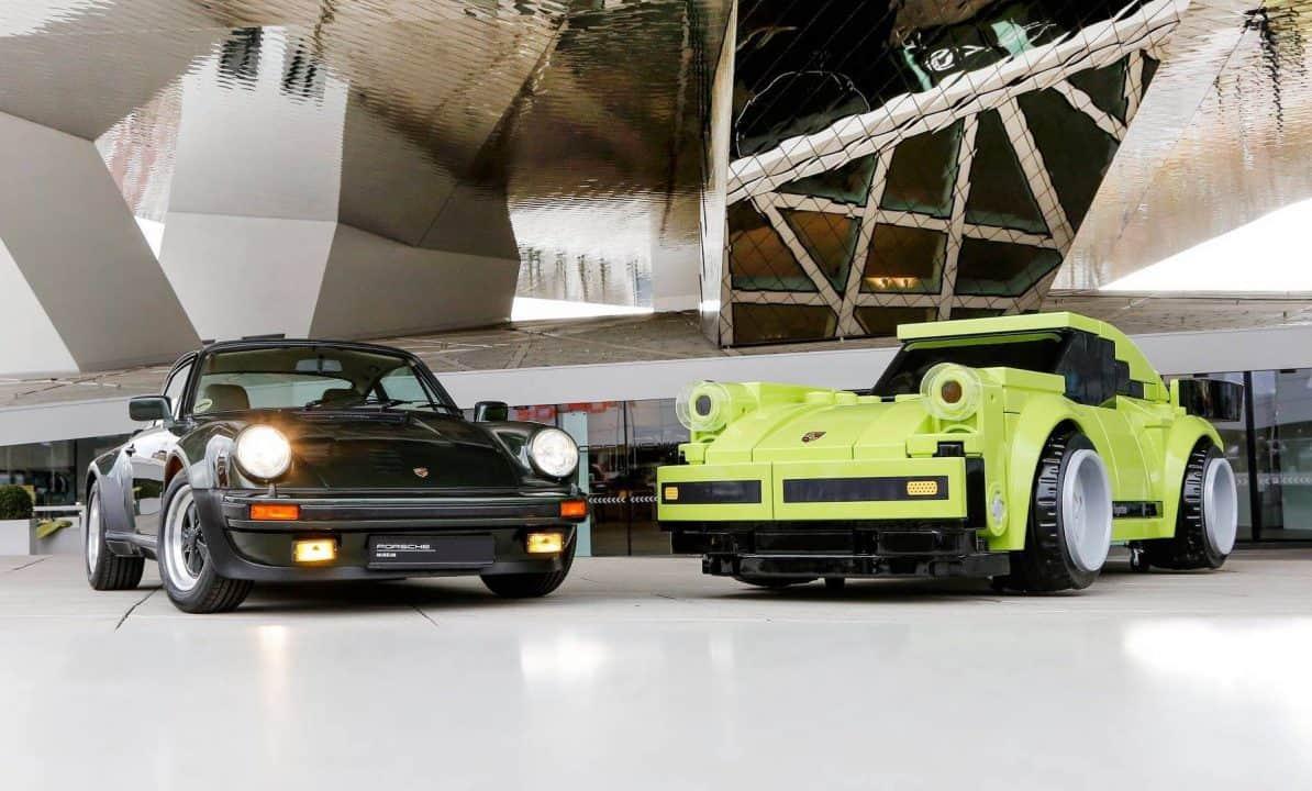 Porsche Museum - Lego Porsche in Lebengröße