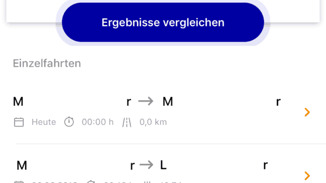 mobility+ App by EnBW