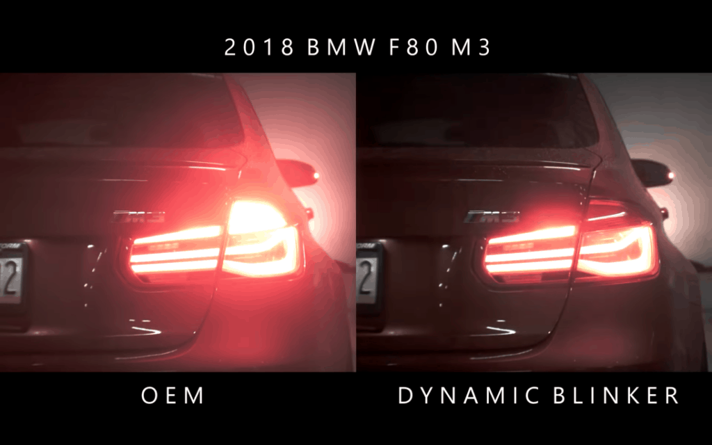 BMW F80 - Sequentiell blinkende Blinker