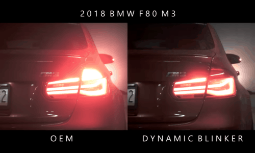 BMW 3er F-Reihe – Sequentieller Blinker