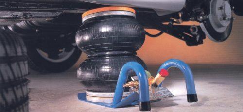 Pneumatischer Wagenheber mit Luftdruck