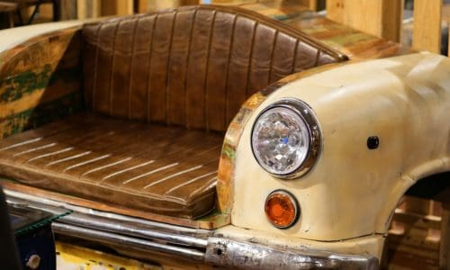 [Lifestyle] Alte Fahrzeugteile ins Zuhause integrieren