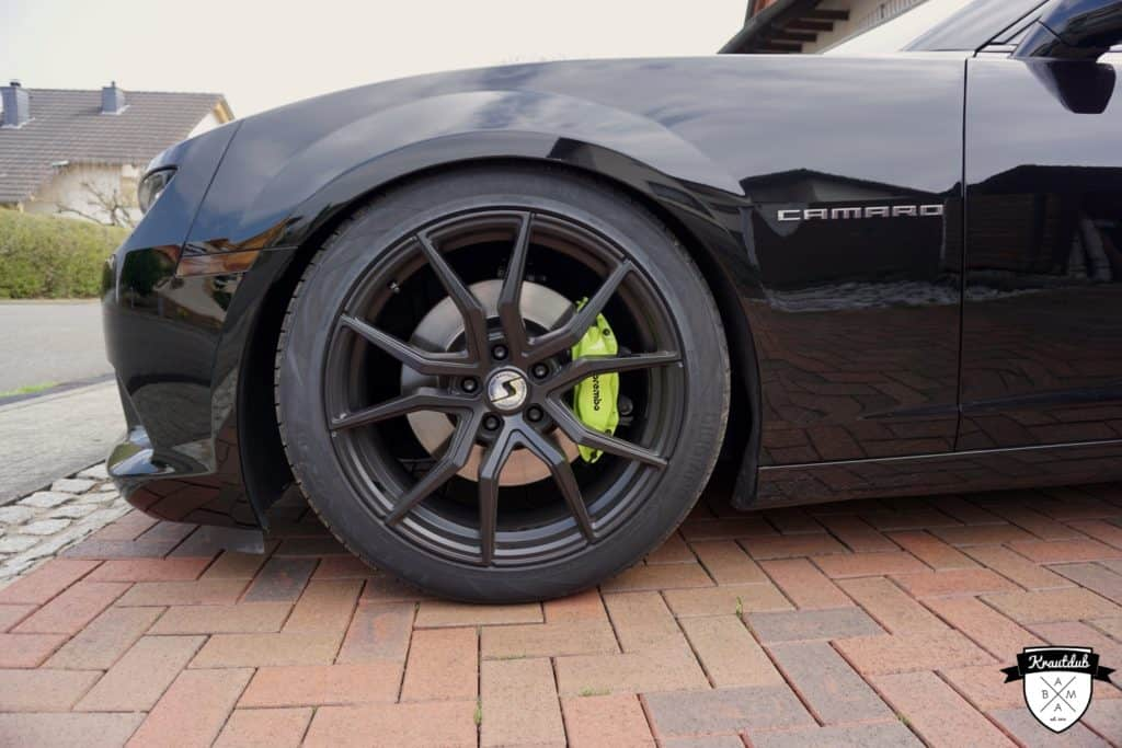 Foliatec Bremssattel-Lack - Toxic Green @ Chevrolet Camaro