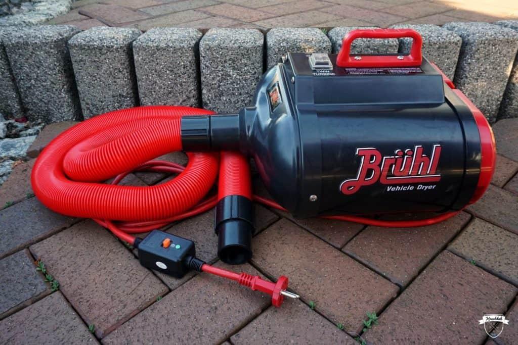 Brühl Dryer MD2800 PRO mit Doppelturbine