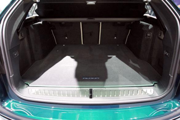 Kofferraum des Alpina B5 Touring