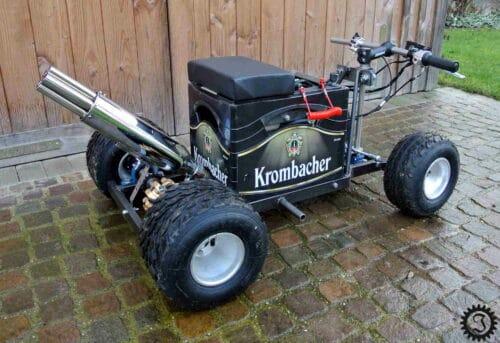 Fahrende Krombacher-Bierkiste von jones-werkstatt.de