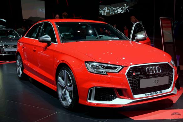 Audi RS3 Front Exterior / Außenansicht