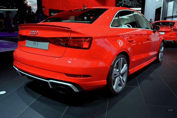 Audi RS3 Heck Exterior / Außenansicht