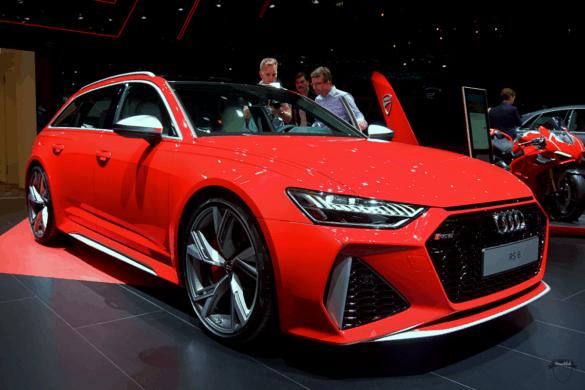 Audi RS6 C8 Front Exterior / Außenansicht