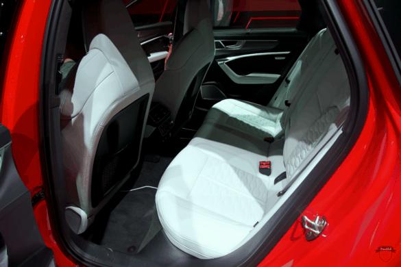 Audi RS6 C8 Innenraum / Interior - Fondsitze