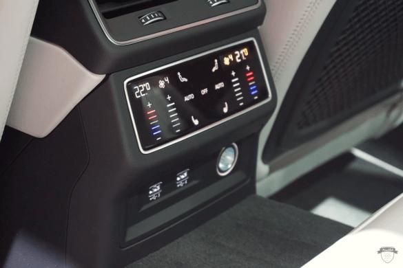 Audi RS6 C8 Innenraum / Interior - Fond Steuerung
