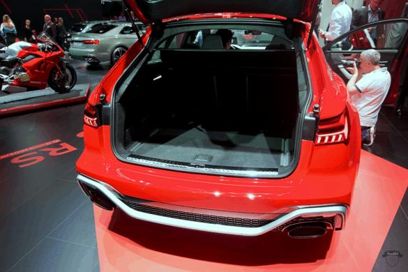Audi RS6 C8 Innenraum / Interior - Kofferraum & Ladevolumen
