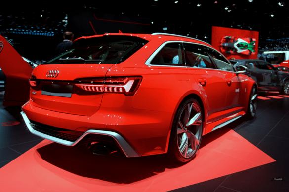 Audi RS6 C8 Heck Exterior / Außenansicht