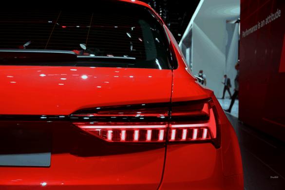 Audi RS6 Heck Exterior / Außenansicht - LED-Rücklichter