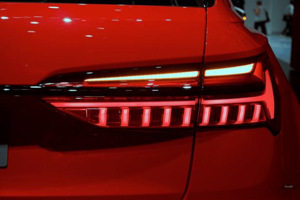 Audi RS6 Heck Exterior / Außenansicht - LED-Rücklichter mit Blinker