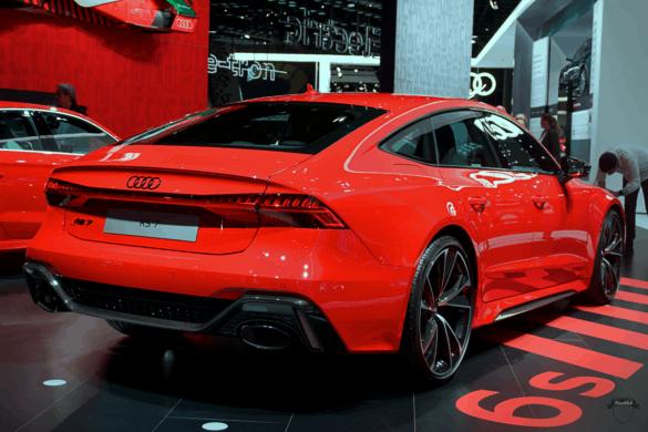Audi RS7 C8 Heck Exterior / Außenansicht
