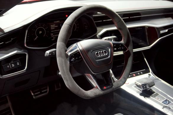 Audi RS7 C8 Innenraum / Interior - Lenkrad & Cockpit