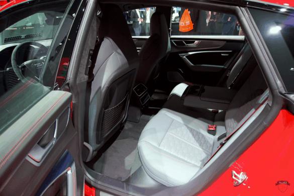 Audi RS7 C8 Innenraum / Interior - Fondsitze