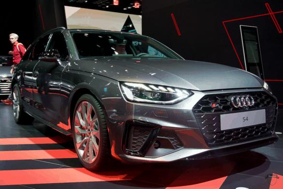 Audi S4 Avant Front Exterior / Außenansicht