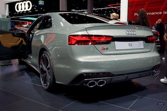 Audi S5 Heck Exterior / Außenansicht