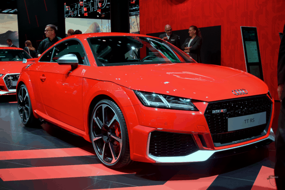 Audi TTRS Front Exterior / Außenansicht
