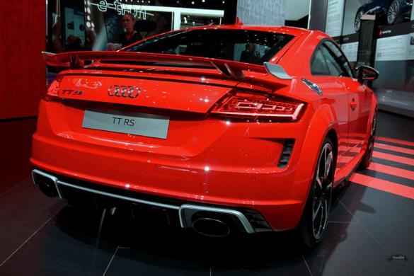 Audi TTRS Heck Exterior / Außenansicht