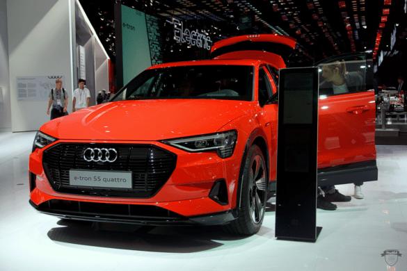 Audi e-tron 55 Heck Quattro Exterior