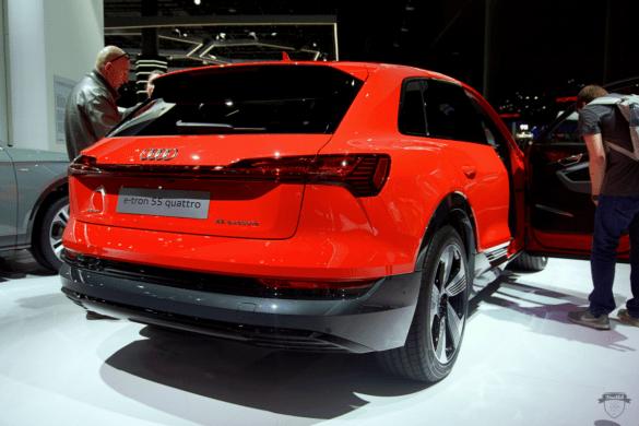 Audi e-tron 55 Quattro Front Exterior
