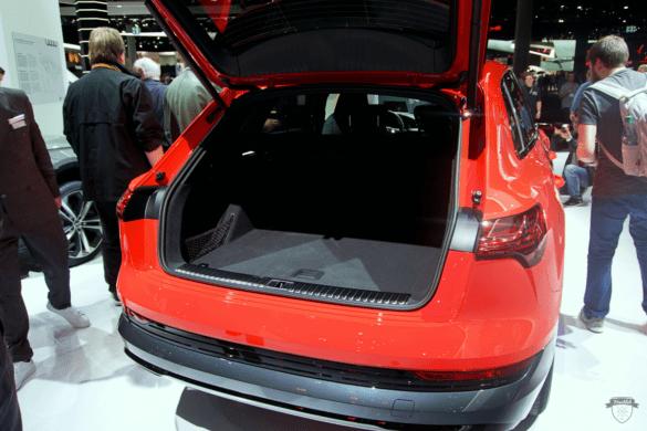 Audi e-tron 55 Quattro Kofferraum