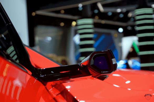 Audi e-tron 55 Quattro Kamera als Seitenspiegel