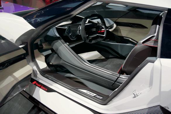 Audi e-tron PB-18 Innenraum / Interior - Cockpit