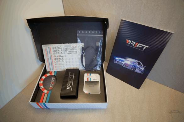 Lieferumfang des DR!FT Silver V8
