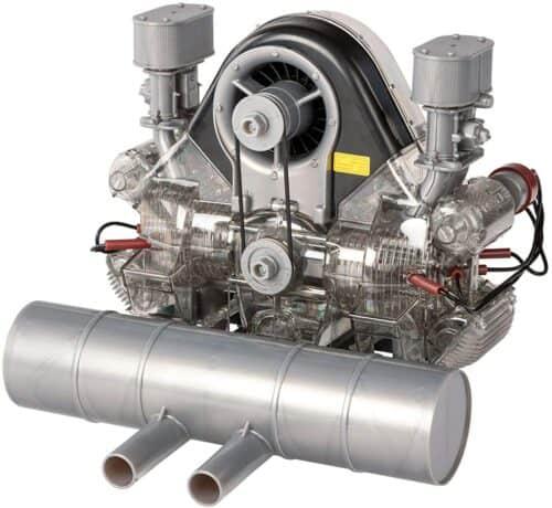 DIY Porsche 4-Zylinder Boxer-Rennmotor-Bausatz