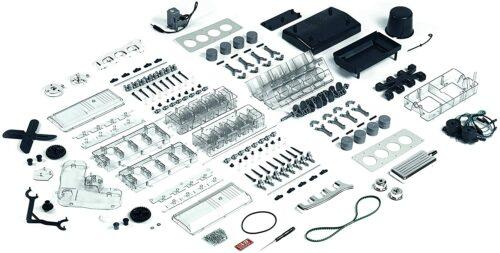 8-Zylinder-Motor als DIY Bausatz - V8 der Klassiker unter den Motoren