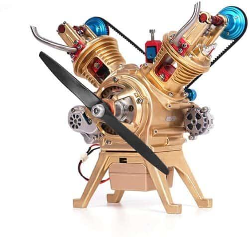 DIY 2 Zylinder (V2) Motor-Bausatz